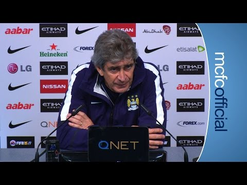 PELLEGRINI ON AGUERO: Southampton v City Pellegrini presser part 1