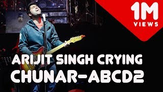 Download Arijit Singh Crying | Chunar (Live) | ABCD2 3Gp Mp4