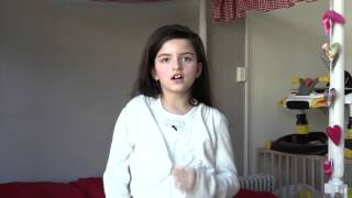 Angelina Jordan - What A Wonderful World - Song clip