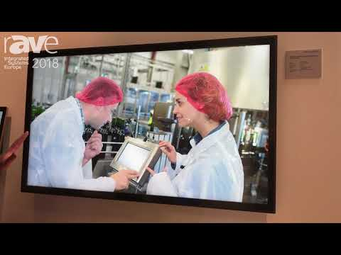 ISE 2018: Data Modul Debuts 55″ UHD 4K Multi-Touch Display for Collaboration Display Solution