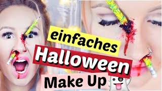 HALLOWEEN MAKE UP 💉😱 Stift in Nase | ViktoriaSarina