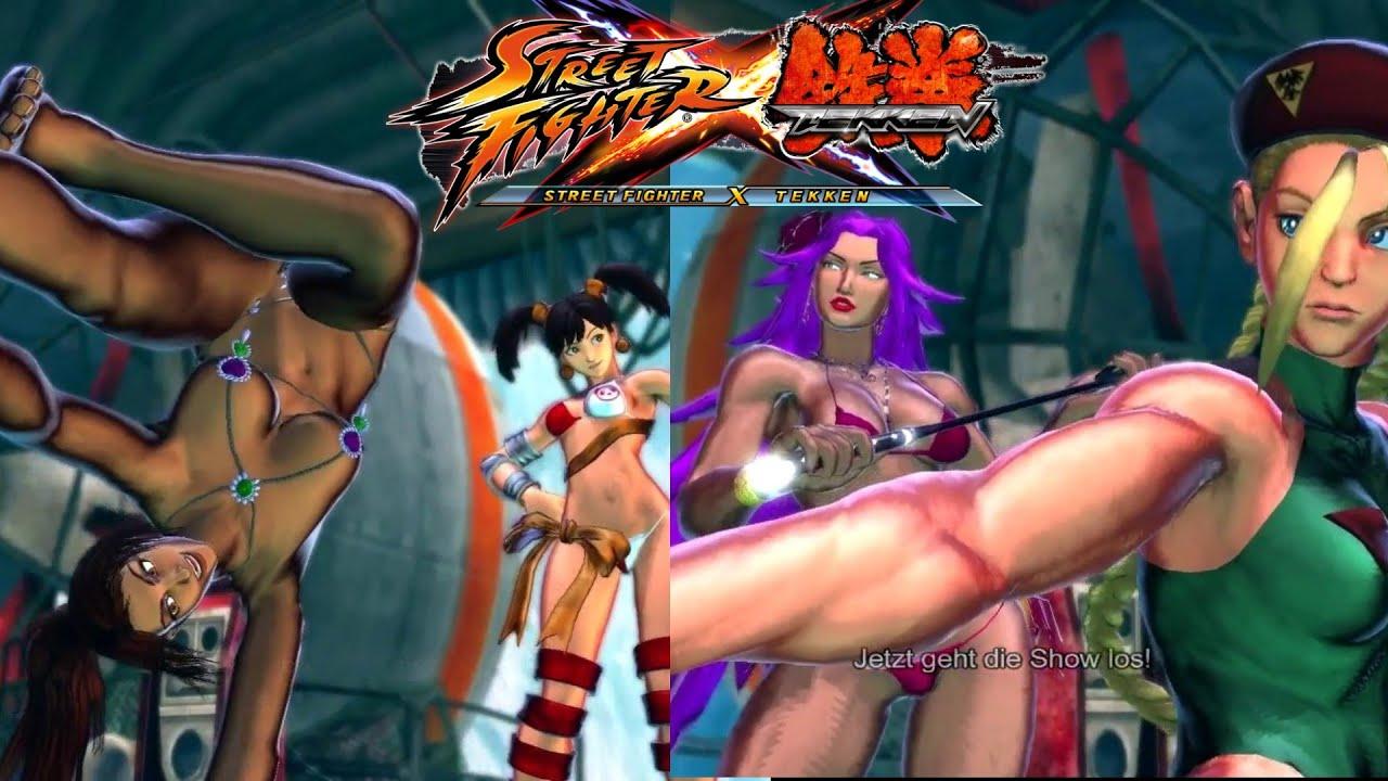 Tekken x street fighter nude mods nackt clip