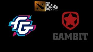 Forward Gaming vs Gambit Esports The Kuala Lumpur Major Highlights Dota 2