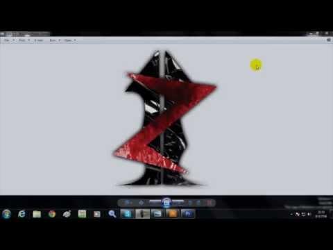 วิธีการทำ โลโก้   Logo   Ai illustrator + Photoshop   CS3