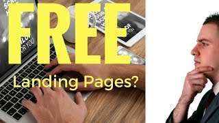 How To Create FREE Landing Pages For Affiliate Marketing?