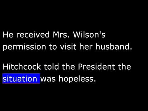 American History - Part 157 - Wilson - Crippled - Treaty Rejected - Harding Elected