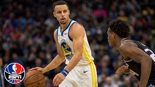 Steph Curry drops 35 points as the Warriors withstand Kings' rally for the win | NBA Highlights