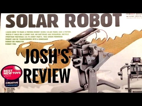 Solar Powered Robot Review