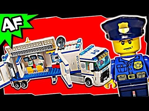 Lego City MOBILE POLICE UNIT 60044 Animated Building Review