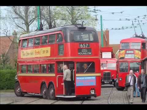 London trolleybus 50 at  East Anglia Transport Museum, Carlton Colville