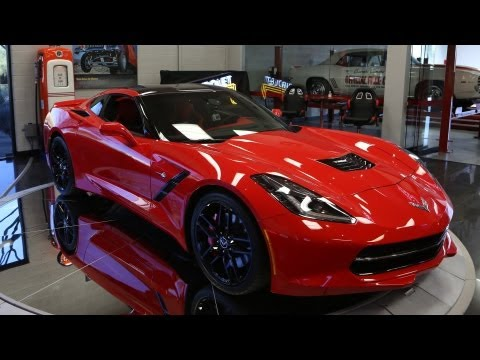 First Look: 2014 Corvette Stingray - Jay Leno's Garage