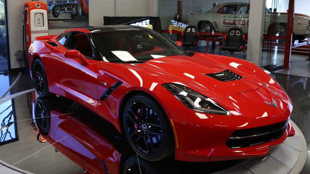 First Look 2014 Corvette Stingray Jay Leno S Garage