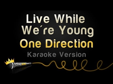 One Direction - Live While We're Young (karaoke Version) video