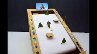 How to make a Skateboard game from cardboard Board game
