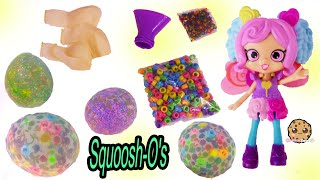 Water Ball Squoosh'os ! DIY Rainbow Balloon Bead Squishy Easy Craft Kit - Does It Work?