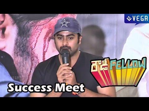 Rowdy Fellow Movie Success Meet : Nara Rohit,vishakha Singh : Latest Telugu Movie 2014 video