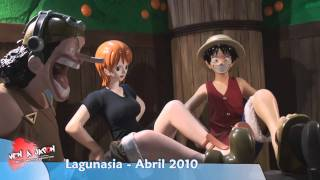 【 Ven a Japón 】 One Piece Memorial Log in Lagunasia