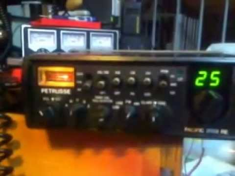 test radio cb major echo 200 / petrusse pacific 2002 re