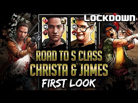 TWD RTS: Road to S Class, 6* Christa & 6* James - First Look - The Walking Dead: Road to Survival