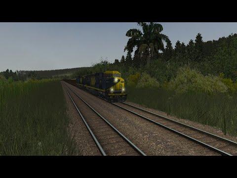 Open Rails- Ramal do Paraopeba/Carregado NAZ