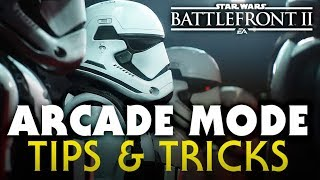 Star Wars Battlefront 2 Single Player ARCADE MODE Tips & Tricks