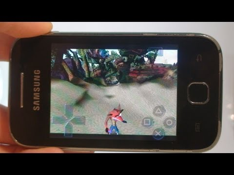 Como jogar PS1 no Android (Emulador PS1 - FPse) - Galaxy Y