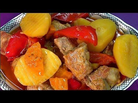 Просто вкусный рецепт. Картошка с  мясом или жаркое Каждый справится