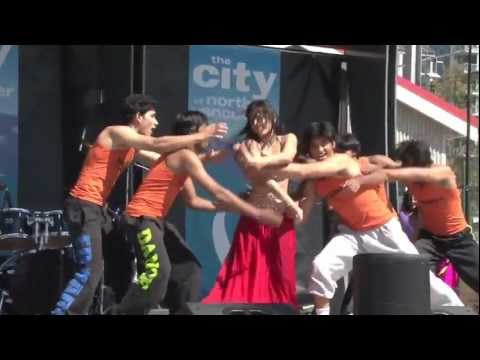 Sadi Gali - Shiamak Davar International - Concerts in the Square 2011