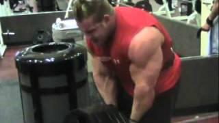 2010 jay cutler training back music video ifbb bodybuilder 2010
