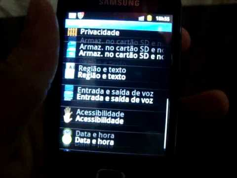Samsung Galaxy Fit - Android Gingerbread 2.3.4