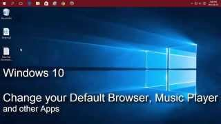 Windows 10 Change Your Default Web Browser Music Player And Other Apps VideoMp4Mp3.Com