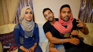 Sham Idrees Becoming a Girl (Makeup Transformation)