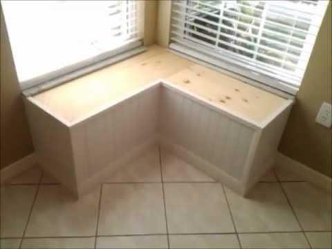 plans corner bench seat
