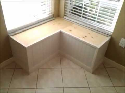 Window Bench Seat Build. - YouTube