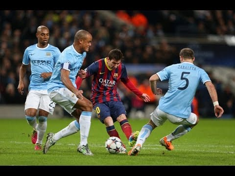 How to stop Lionel Messi | EPIC Worst Tackles HD