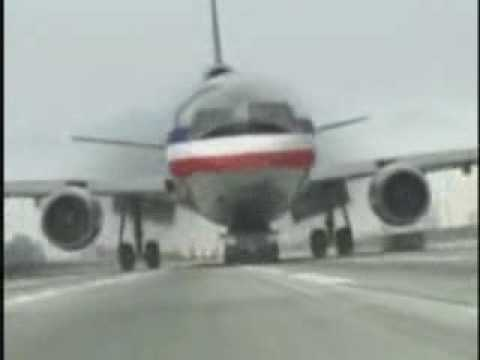 Passenger Jet lands on Jeep Grand Cherokee Video