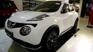 Nissan JUKE  2018 ,white colour ,Exterior and Interior