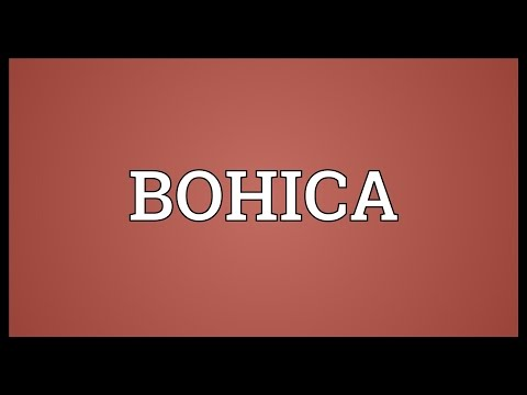 BOHICA Meaning