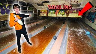 ALMOST CAUGHT AT ABANDONED BOWLING ALLEY!