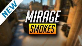 NEW MIRAGE SMOKES UPDATED - CS GO (2018)