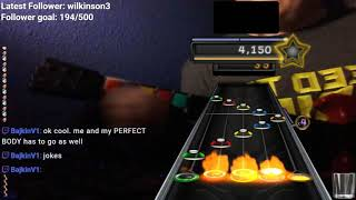 Sick Guitar Hero Clip (1 finger with sock over hand)