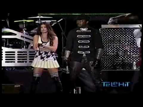 The Black Eyed Peas - Pump It Live México Goliath Festival 2009 video