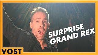 Deadpool - Surprise de Ryan Reynolds au Grand Rex [Officielle] VOST HD