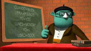 Gomaespuminglish Lesson One, I book on Mondays!