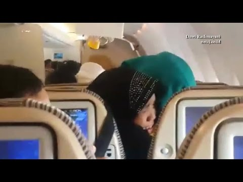See turbulence on Eithad Airways flight