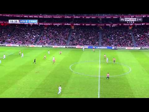 La Liga 02 02 2014 Athletic Bilbao vs Real Madrid CF - HD - Full Match - 1ST - English Commentary