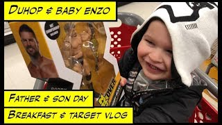 Duhop FATHER and SON DAY BREAKFAST AND NEW TOYS Vlog
