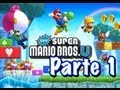 New Super Mario Bros U - Parte 1 - Español