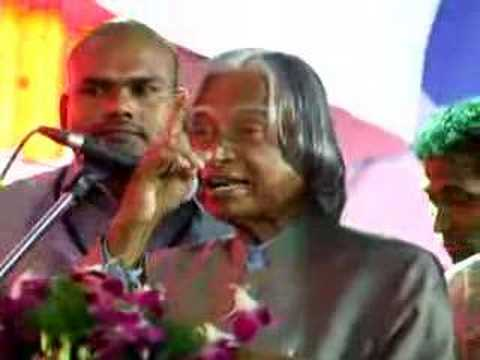 Abdul Kalam - Speech In Hyderabad video