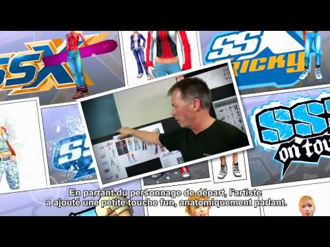 SSX: Making-of #04: Personnages